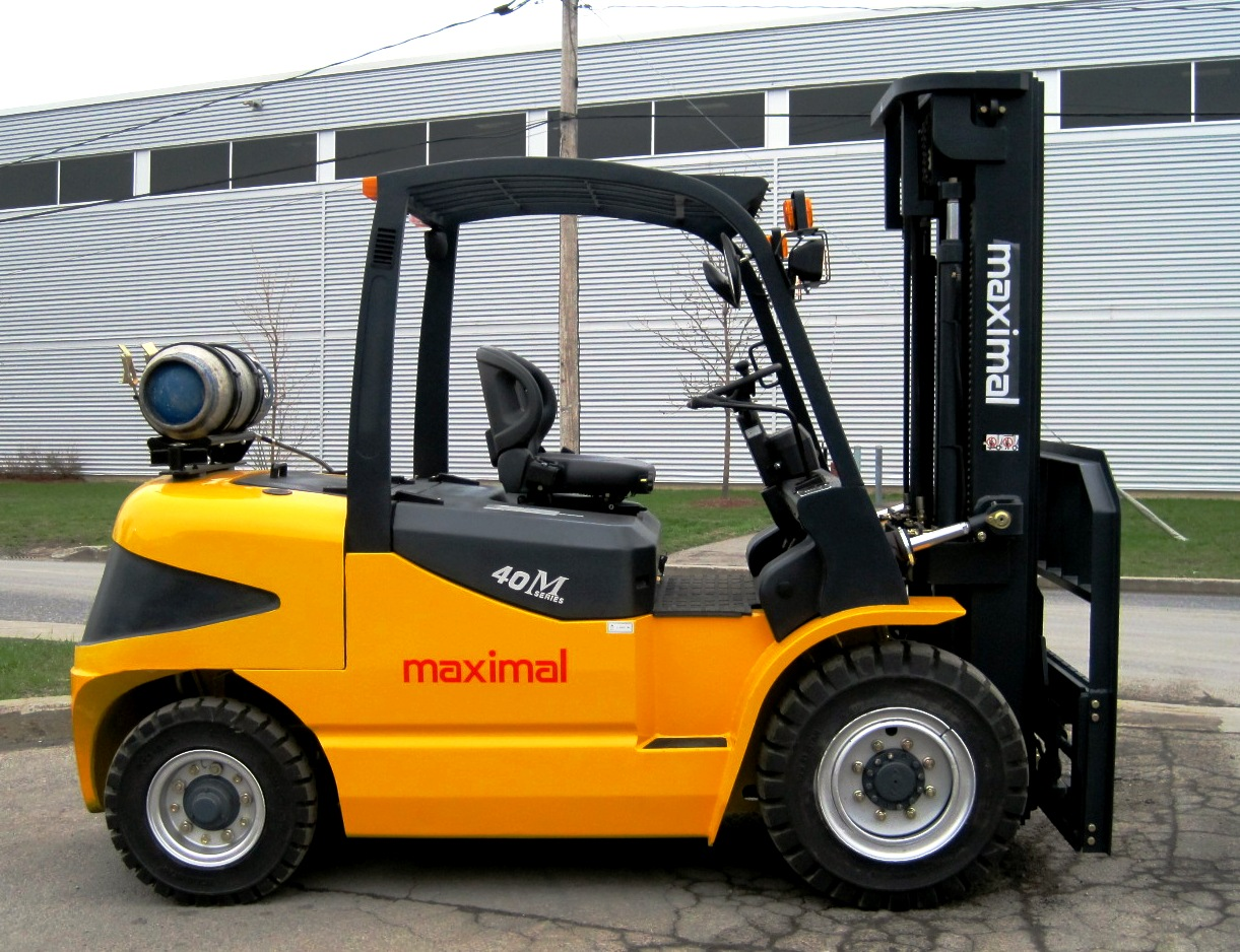 M series 4,0 ton to 5,0 ton LPG - Side
