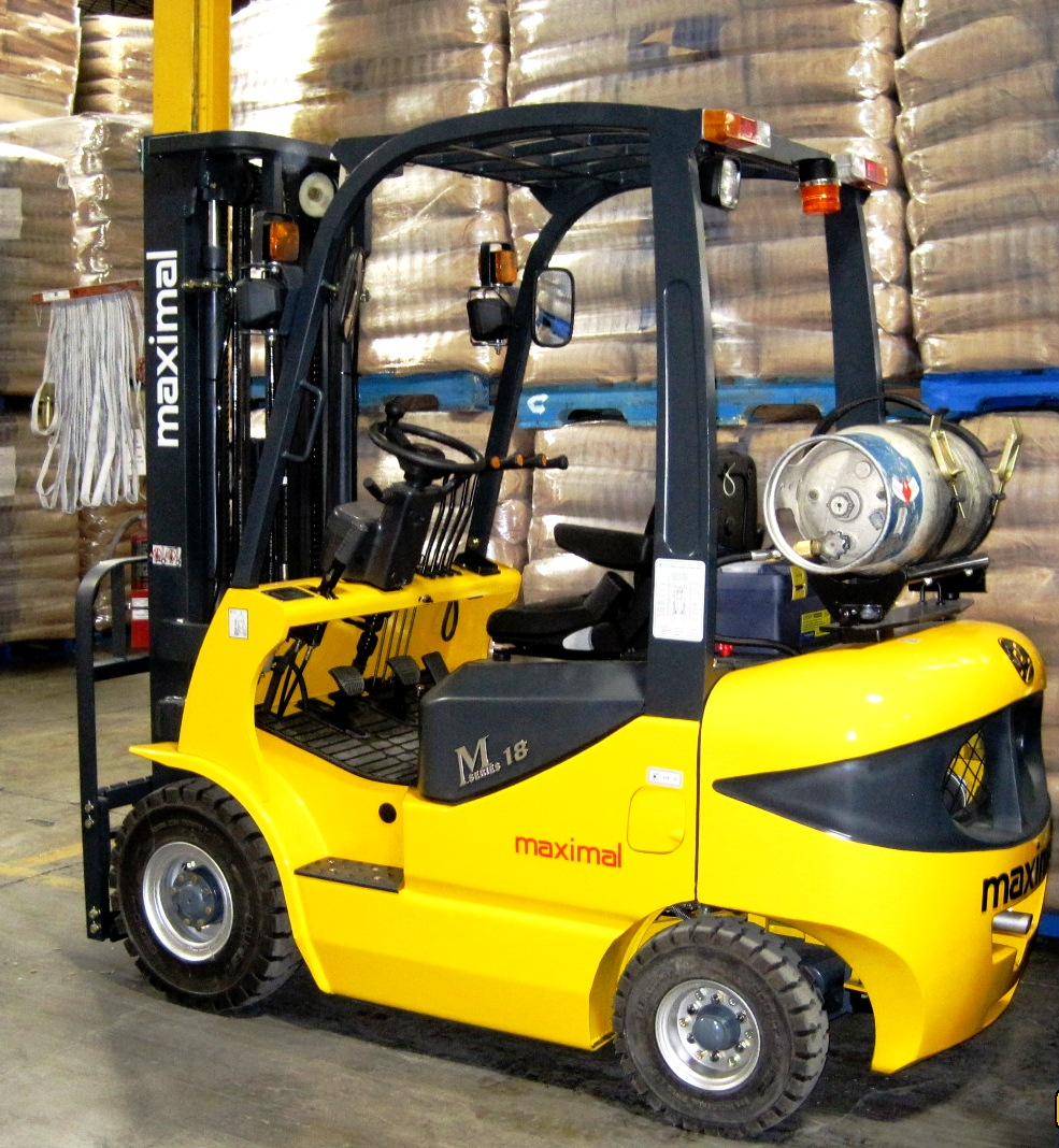 M Series 1,5 ton to 1.8 ton LPG - Side