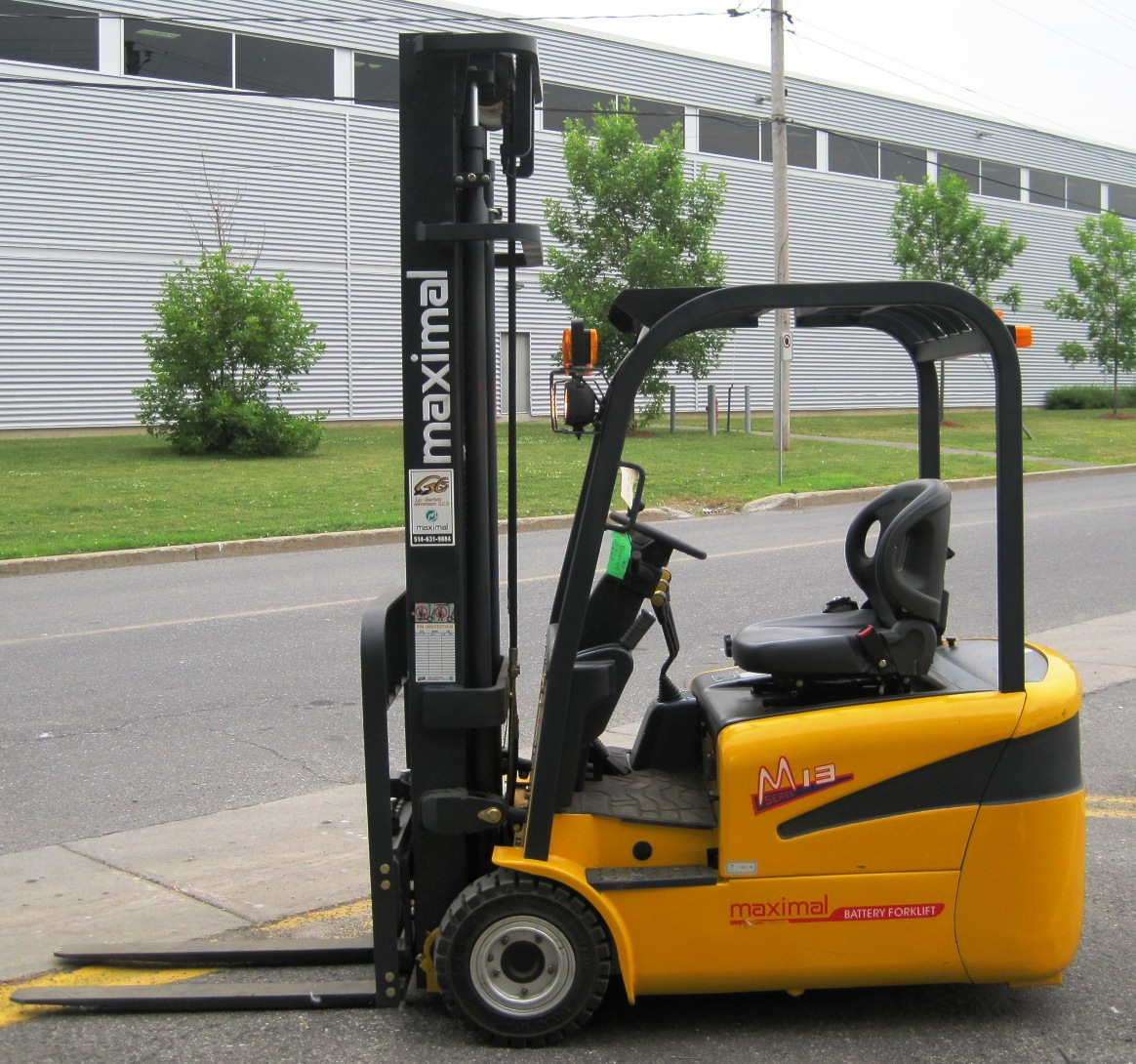 1.3 TON 3 WHEEL ELECTRIC FORKLIFT