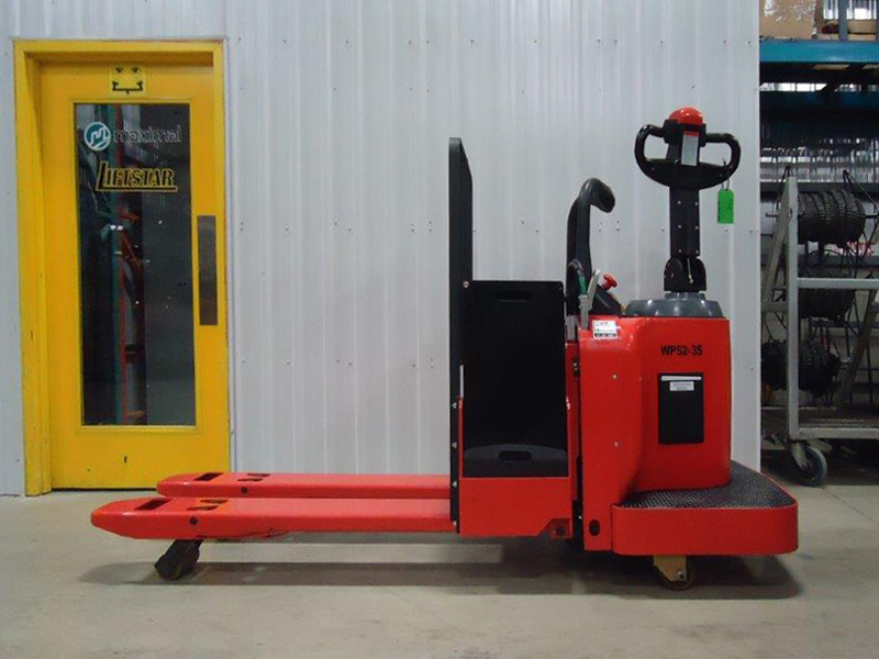 Heavy duty trans-pallet - Side